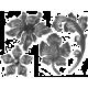 Квіти, листя, рослини, візерунки