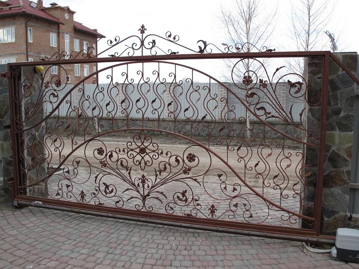 Ковані ворота та хвіртки своїми руками